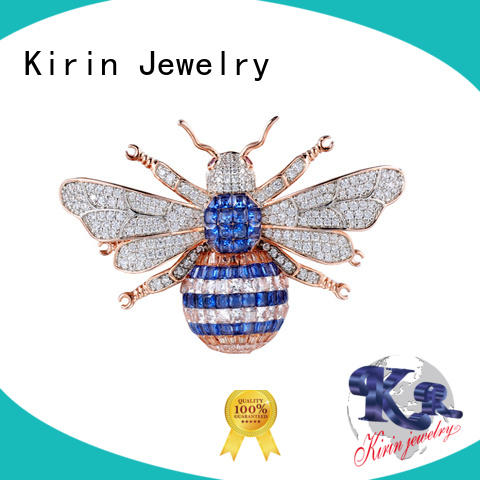 Kirin Jewelry Brand romantic invisible setting jewelry anniversary factory