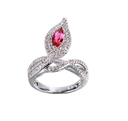 alluring unique sterling silver rings shape factory price for mother-1
