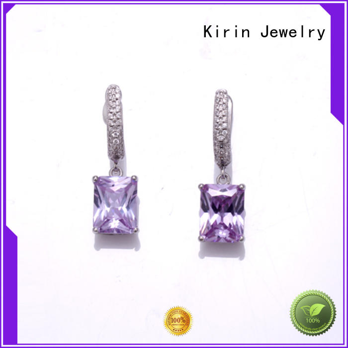 Kirin Jewelry stylish sterling silver earring sets factory price for mate