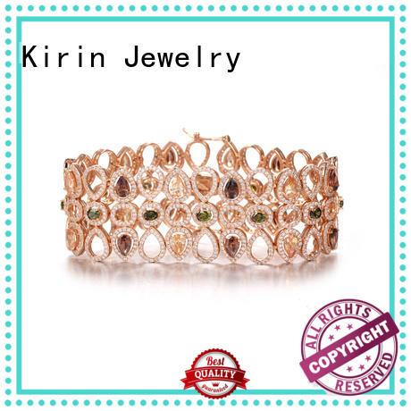 Kirin platinum sterling silver bracelets bulk production for lover