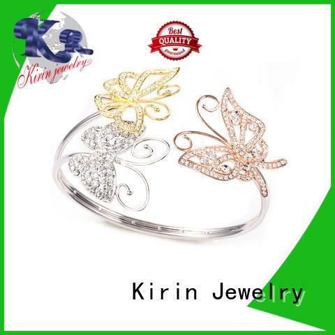 girls 925 sterling silver bracelets cubic ideal Kirin Jewelry company