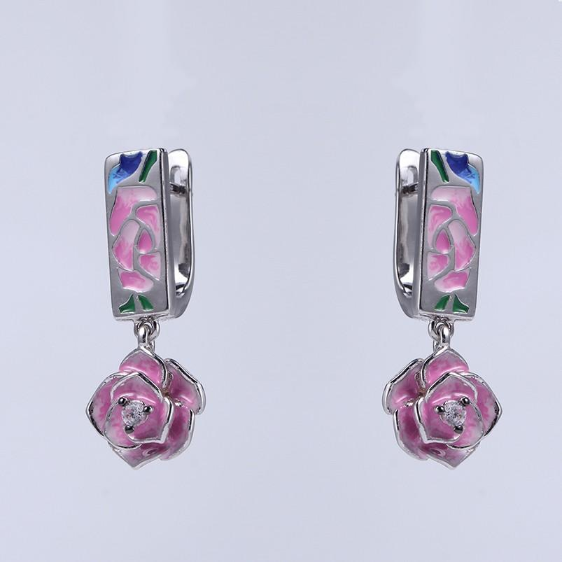 attractive earrings necklace and ring set at discount for mate-2