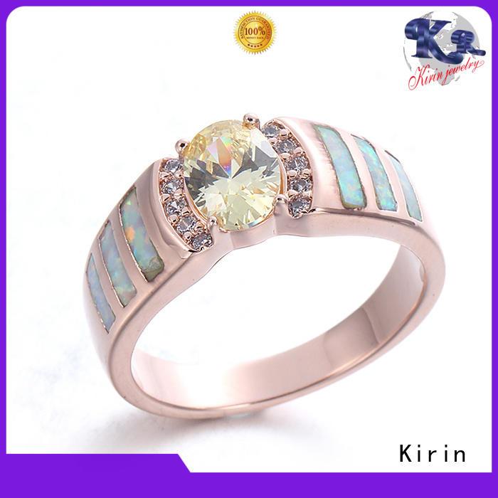 Custom sterling silver cubic zirconia rings price customization