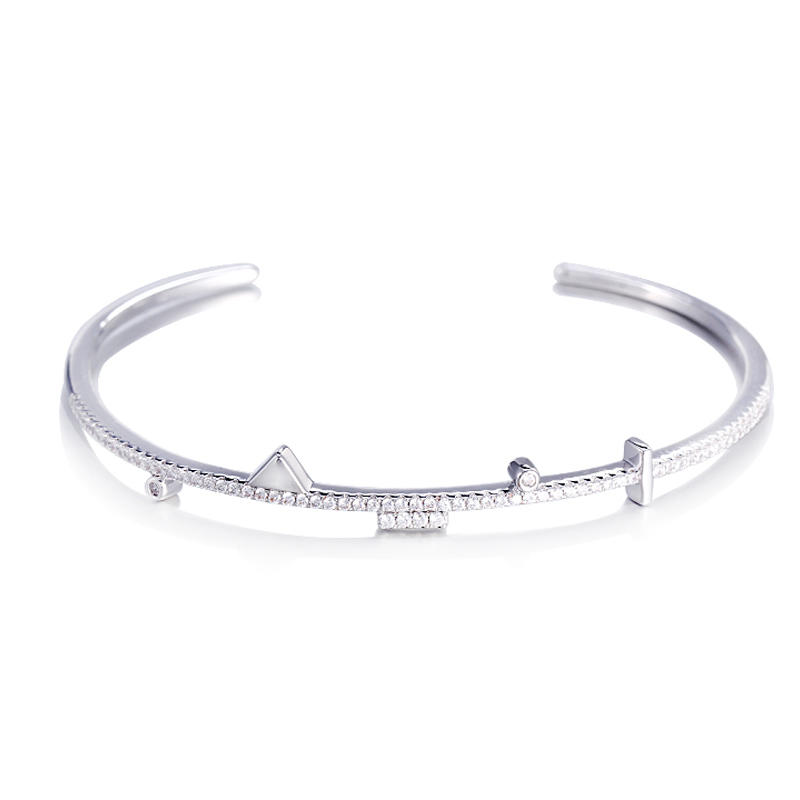Kirin Jewelry -Best Jewelry Chain 925 Sterling Silver Geometric Ornament