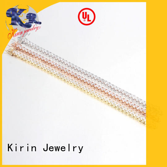 Wholesale Women Fashion 925 Sterling Silver Round Cut Cubic Zirconia Tennis Bracelet Bangles 60072