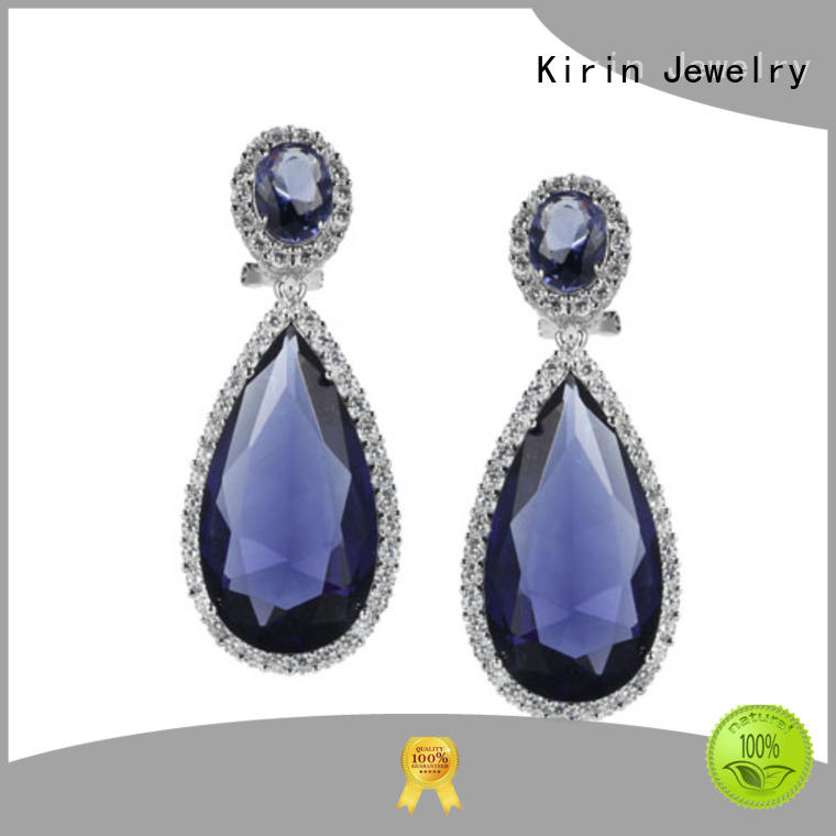 Kirin New tiny sterling silver stud earrings with cheap price for woman