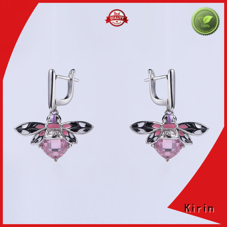 Kirin earringspendant pink necklace and earring set order now for mother