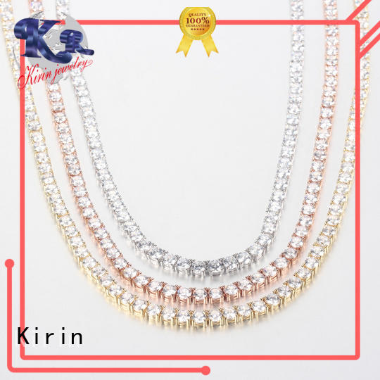 Kirin green silver heart pendant necklace in different color for girlfriend