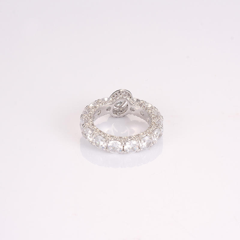 Kirin Jewelry -925 Sterling Silver Cz Rings | Rings Paved With Diamond