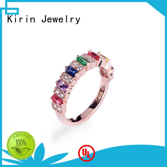Kirin good-package unique sterling silver rings Suppliers for mom