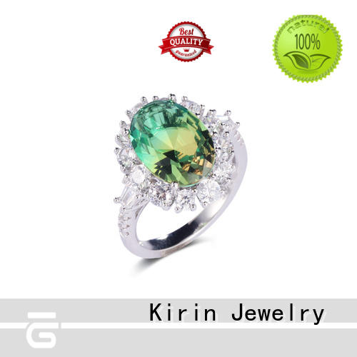 special fashion rings factory price for family Kirin Jewelry