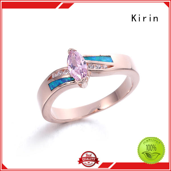 Kirin stunning real silver rings customization for mate