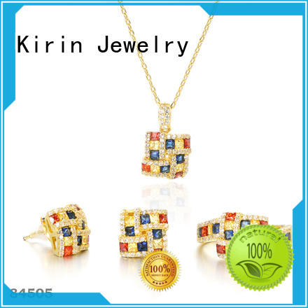 Kirin charming rainbow necklace with many colors for lover