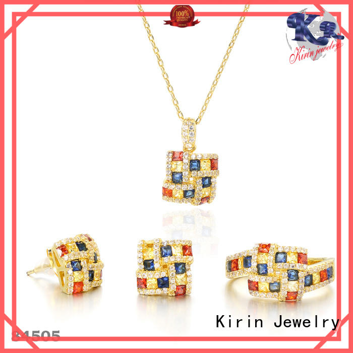 Kirin Best rainbow sapphire necklace for business for girlfriend