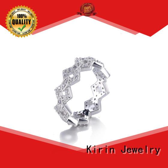 Kirin newly pretty silver rings Suppliers for girlfriend