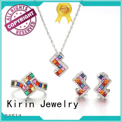 Kirin earrings rainbow pride ring in different color for partner