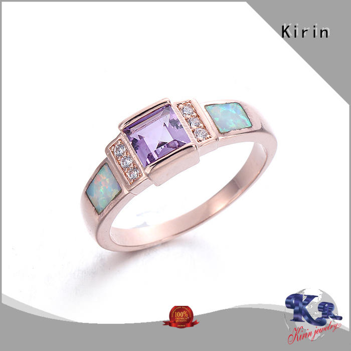 Kirin inexpensive high quality silver rings bulk production for mother