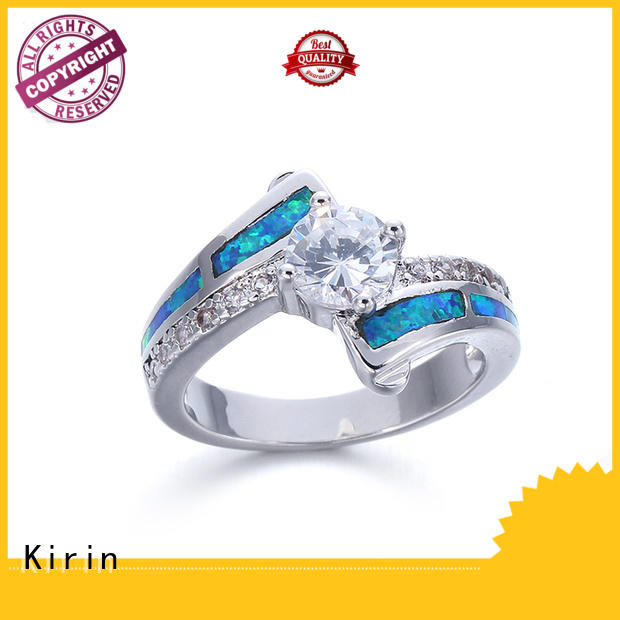 Kirin excellent opal rings for sale bulk production for family