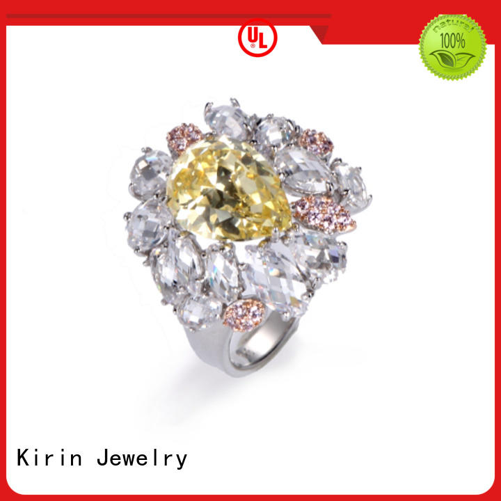 newly solid silver rings for women factory price for lover Kirin Jewelry