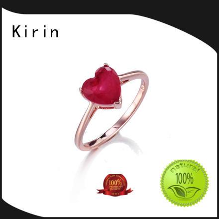 charm sterling silver wedding rings bulk production for mate Kirin