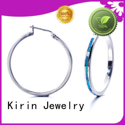 Kirin nice opal and silver necklace factory for partner