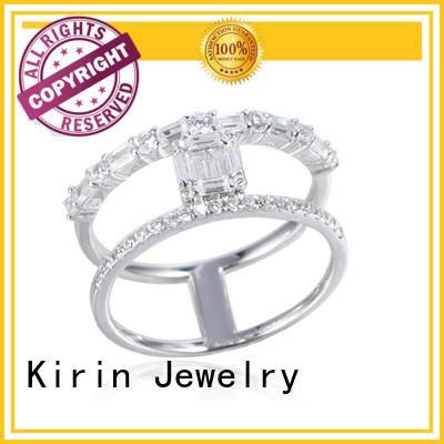 Kirin Jewelry good-package amazing silver rings 103558 for mom