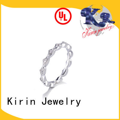 Kirin exquisite womens sterling rings with good price for mother