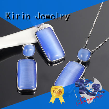 Kirin gold necklace ring set from manufacturer for mate