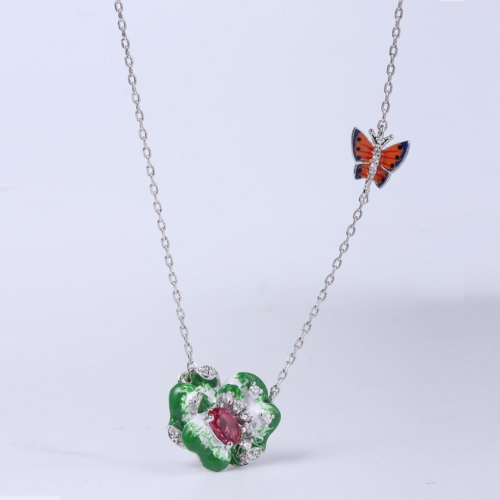 Kirin Jewelry earringringpendant ladies necklace and earring sets with cheap price for mother-1