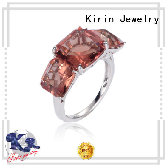 Kirin Jewelry alluring sterling silver jewelry rings cz for partner