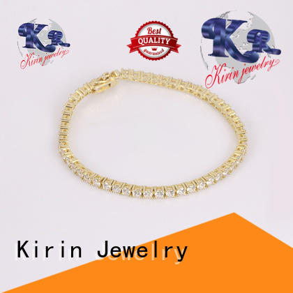 classic pure silver bracelet geometric for lover Kirin Jewelry