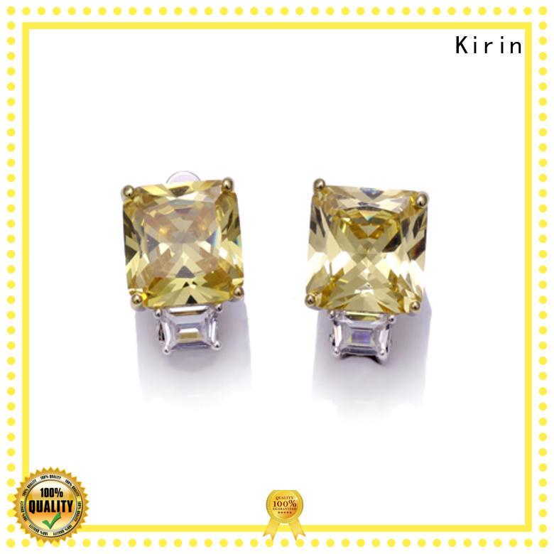 Kirin excellent silver stud earrings bulk production for mate