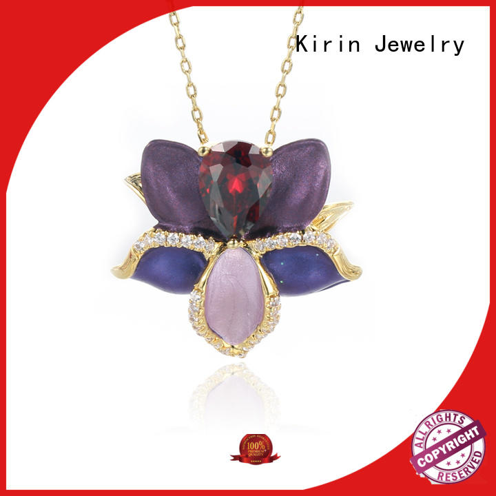 Kirin Jewelry Brand paty womenkirin womens good sterling silver jewelry crystal