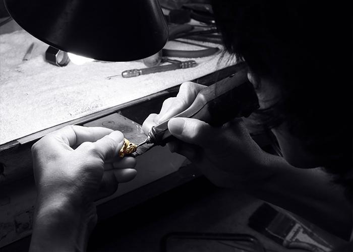 Kirin heart rose gold opal necklace order now for partner-3