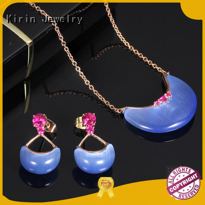 Kirin rhodium real silver jewelry producer for mother
