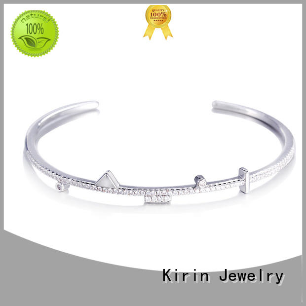 women bracelet OEM pave setting jewelry Kirin Jewelry