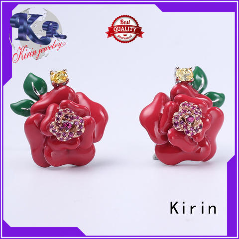 Kirin attractive rose gold jewelry set by Chinese manufaturer for partner