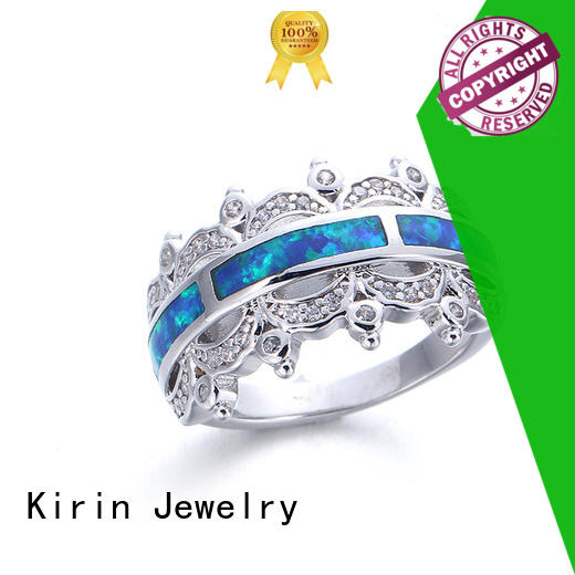 Kirin woman sterling silver rose ring bulk production
