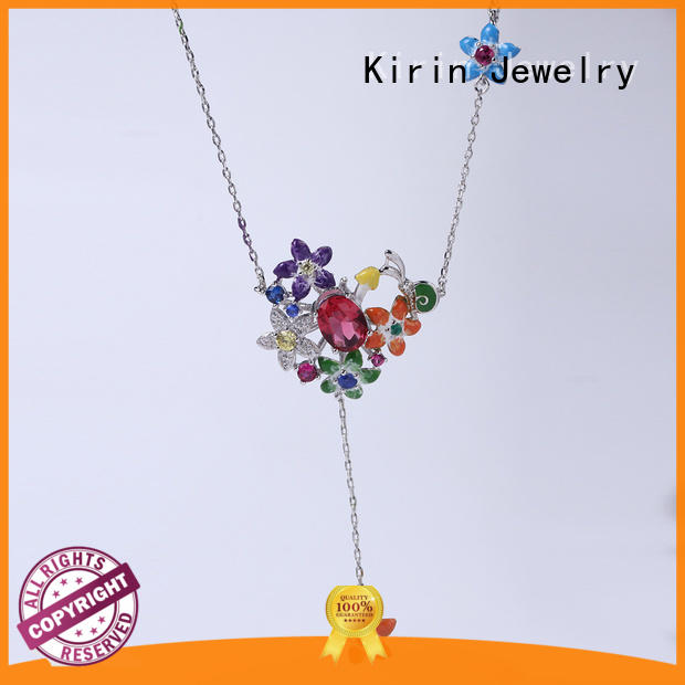 Kirin Jewelry ringpendant sterling silver wedding jewelry sets from manufacturer for female