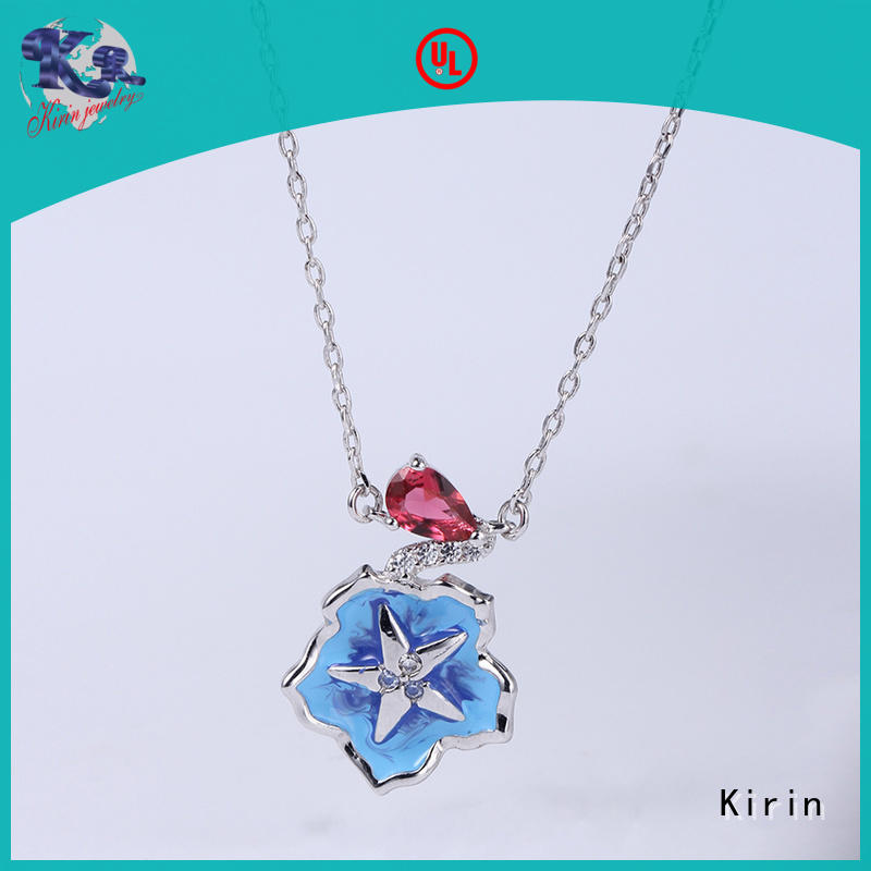 Kirin anniversary silver crystal jewellery sets bulk production for girl