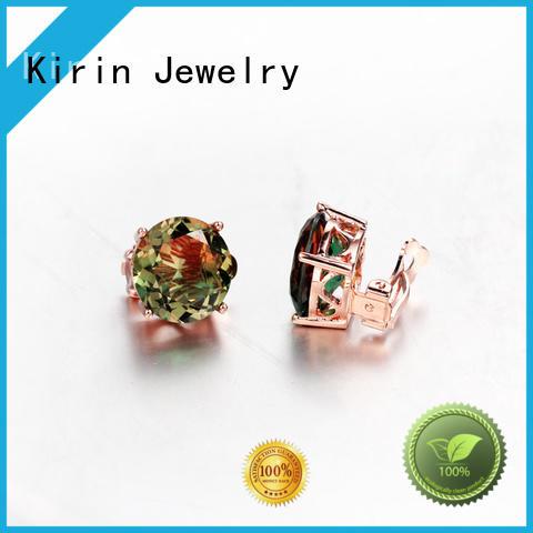 engagement round square prong setting jewelry cut Kirin Jewelry Brand