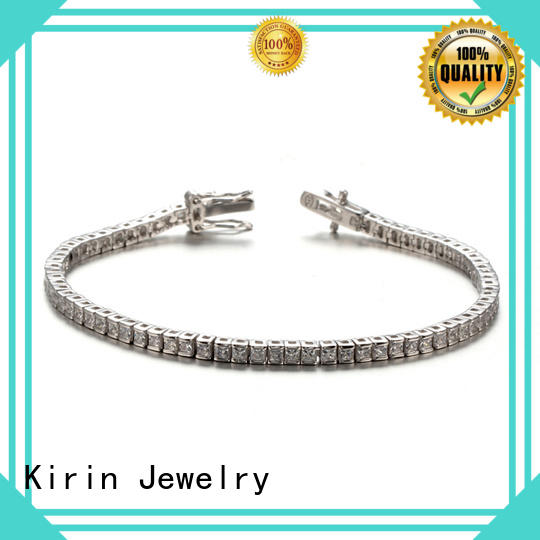 charming silver bangles for womens rose China Factory for partner