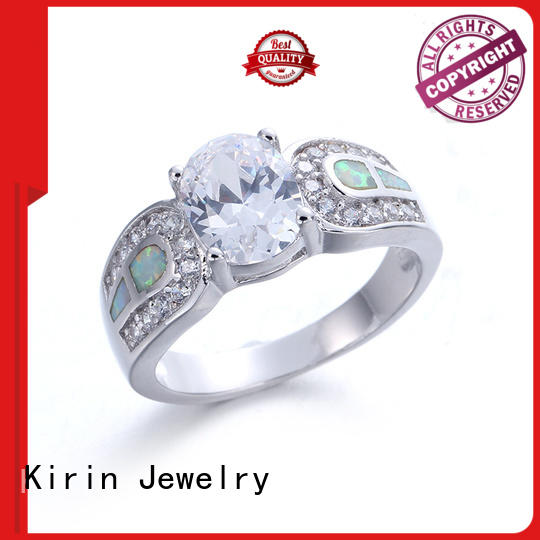 Kirin magnificent long silver ring from China for family