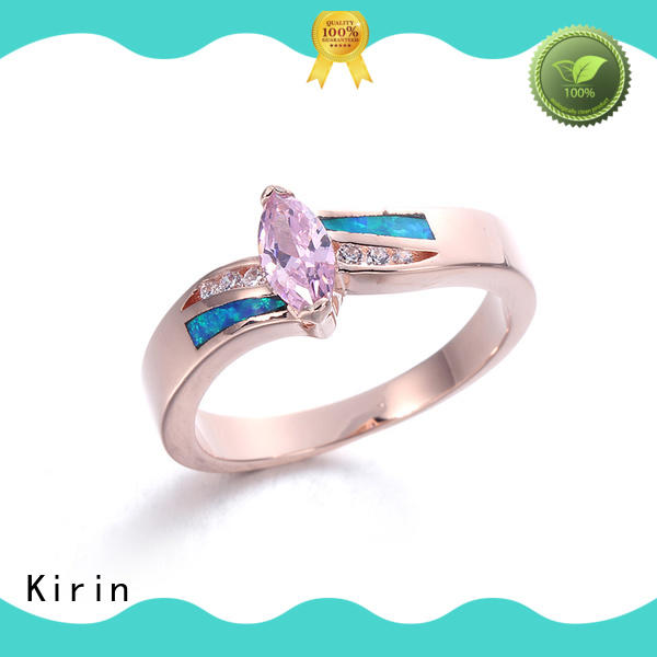 Kirin gorgeous opal stone ring free quote for girlfriend