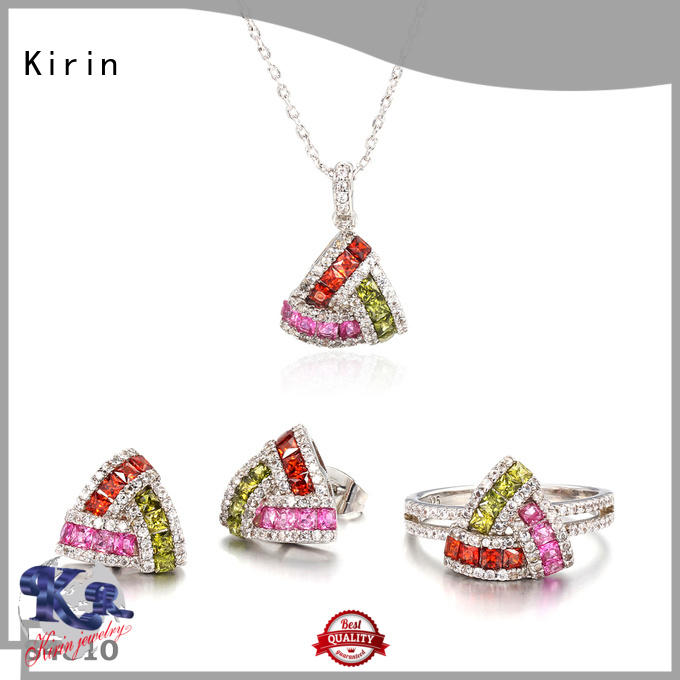 Kirin splendid rainbow necklace in different color for girl