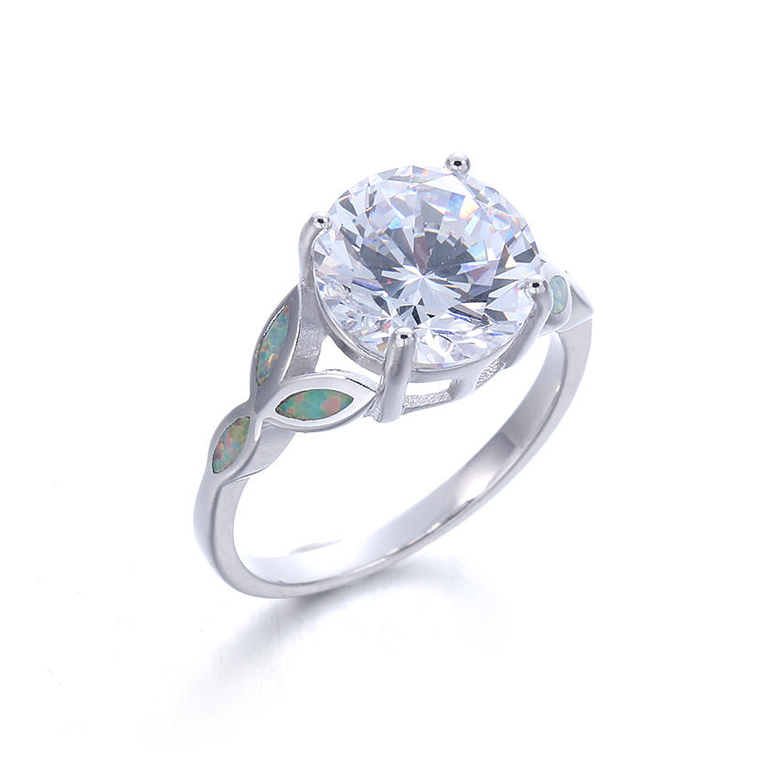Kirin your silver rings with stones for women from manufacturer for partner-1