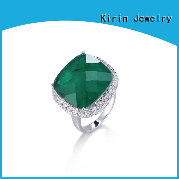 102287 pure silver rings for womens with good price for mate Kirin Jewelry