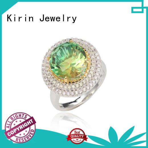 lucky cute sterling silver rings bulk production for lover Kirin