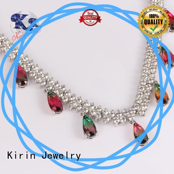 Kirin Jewelry splendid silver long necklace wholesale for partner