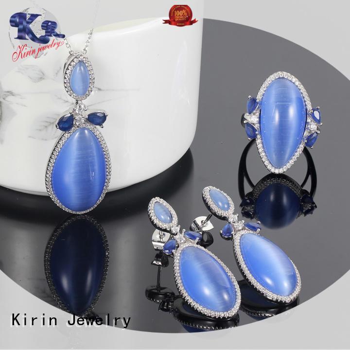 Kirin charming silver sets jewellery online bulk production for lover